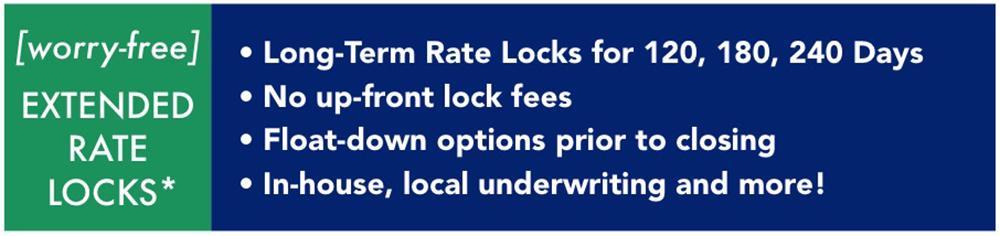 rate lock graphic